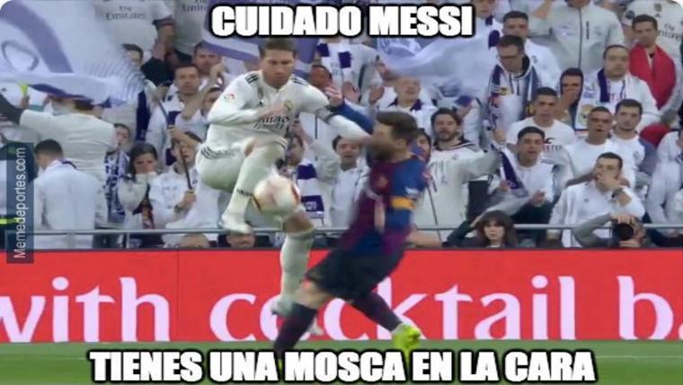 Estos son los mejores 'memes' del Madrid-Barcelona de LaLiga