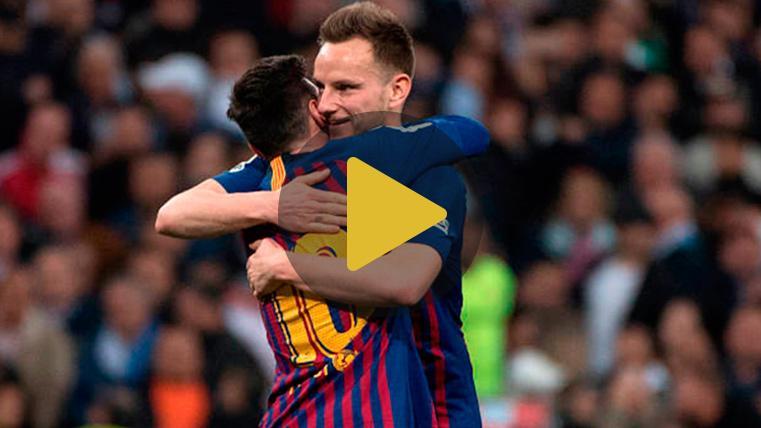 Mensaje de Rakitic a la afición del Barça tras decidir el Clásico