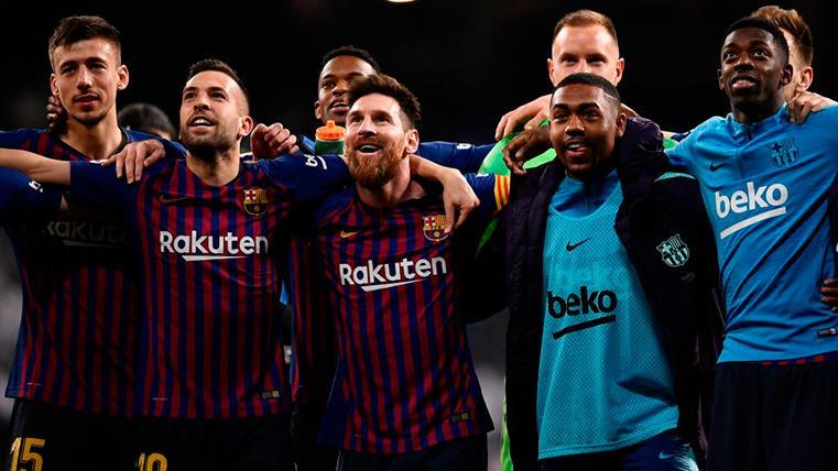 El vestuario del Barça se conjuró tras el Clásico para ganar esta Liga