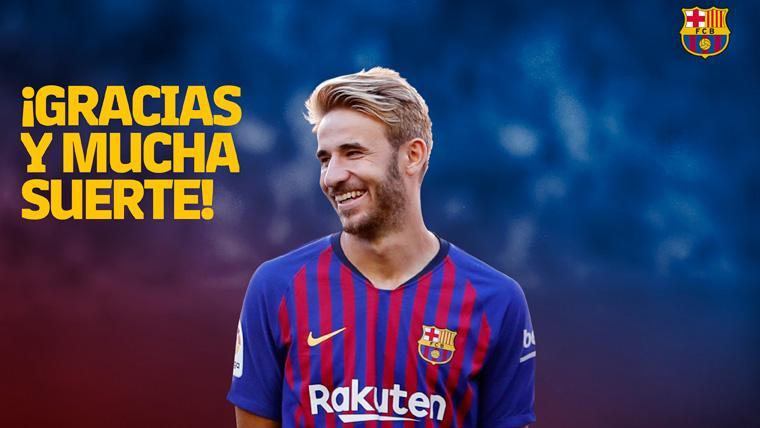 OFICIAL: El Barça anuncia un acuerdo con Sergi Samper para la rescisión de su contrato