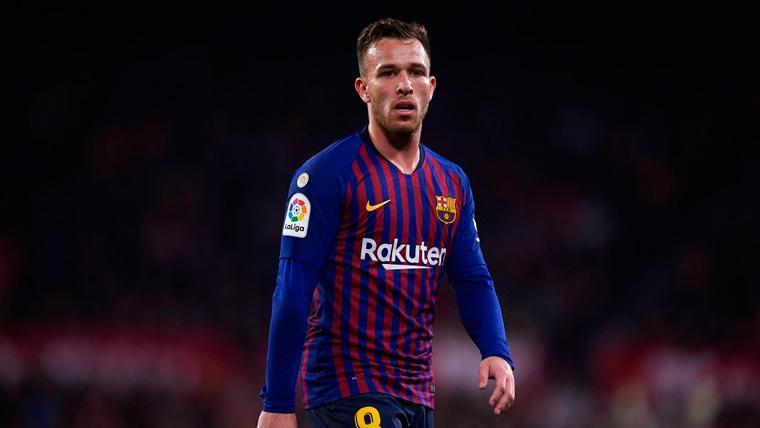 Arthur es la gran esperanza del Barça para conquistar la Champions