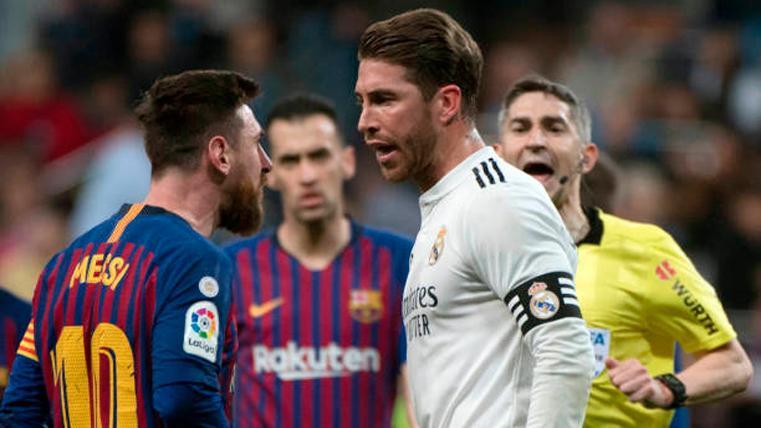 VERGÜENZA: Lo que dijo el árbitro después de la agresión de Ramos a Messi