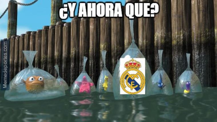 Estos son los mejores 'memes' tras la eliminación del Madrid en Champions