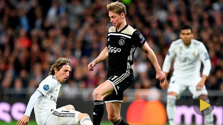 La magia de De Jong 'rompe' al Madrid: Tumbó a Vinicius y dejó sentado a Modric