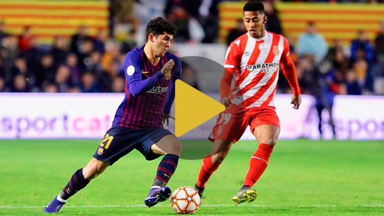 Stuani decide la Supercopa de Catalunya ante un Barça repleto de suplentes y canteranos (0-1)