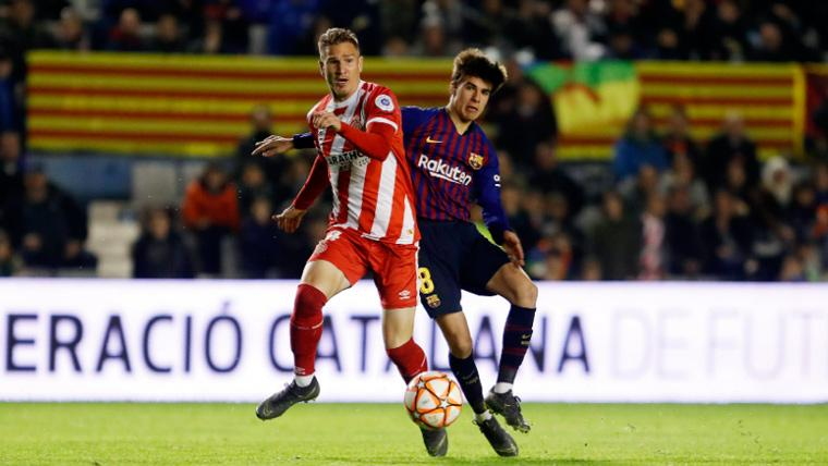 Riqui Puig acabó la Supercopa de Catalunya 'tocado' del tobillo, pero no sufre una lesión grave