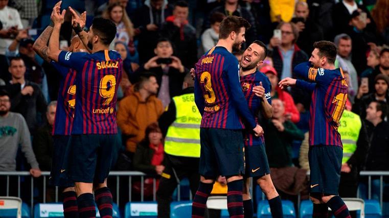 El Barça consolidó el sueño del triplete en el pasado mes de febrero