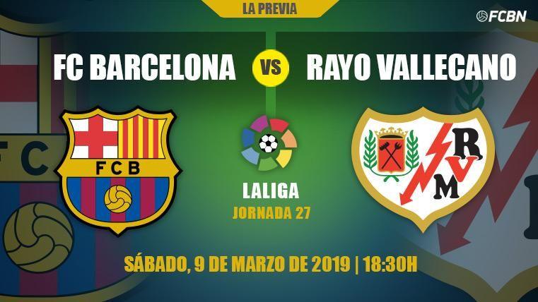 Prueba de fuego del Barça en LaLiga contra el Rayo antes de la vuelta de Champions