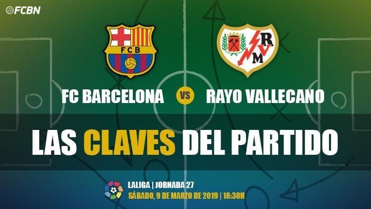 Las claves del FC Barcelona-Rayo Vallecano de LaLiga 2018-19