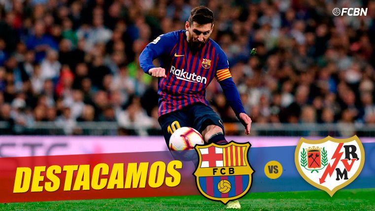 Messi hará historia contra el Rayo