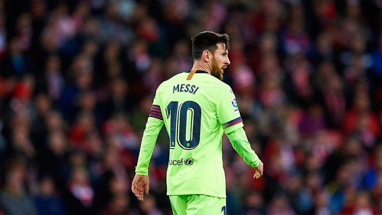 El FC Barcelona quiere renovar a Leo Messi
