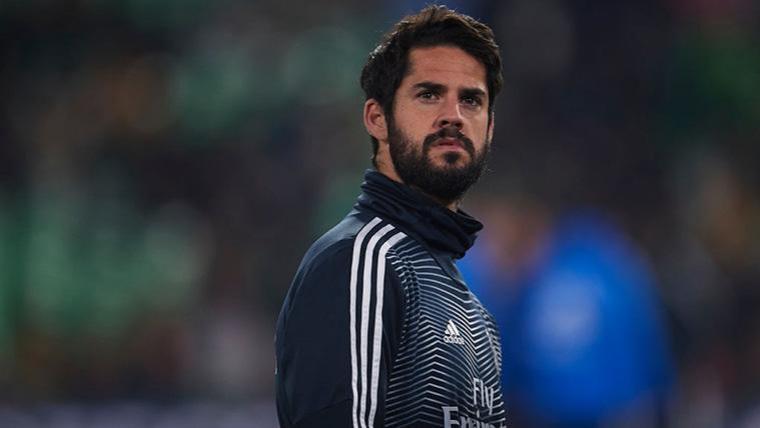 El Real Madrid expedienta a Isco por saltarse una charla de Solari