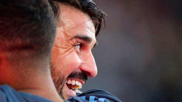 Villa marca e Iniesta asiste en un triunfo muy culé del Vissel Kobe