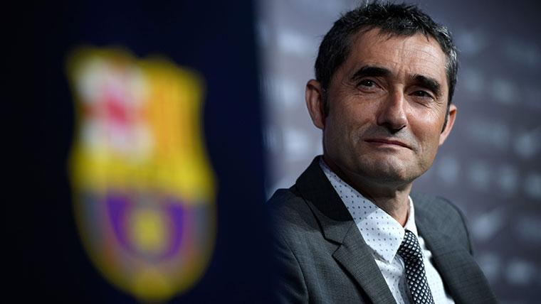 Valverde escala en el ránking de entrenadores del Barça líderes en LaLiga