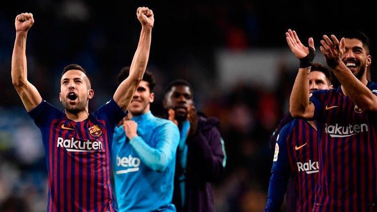 Todos los detalles del acto de renovación de Jordi Alba con el FC Barcelona