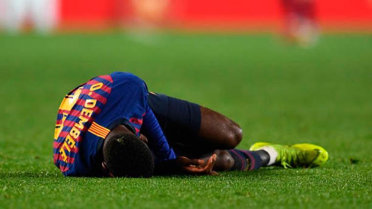 Las lesiones, el único 'pero' del temporadón de Dembélé