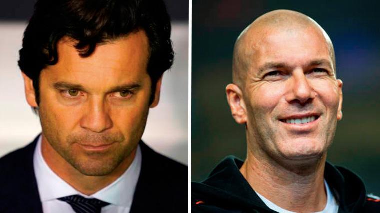 Zinedine Zidane, nuevo técnico del Real Madrid en sustitución de Solari