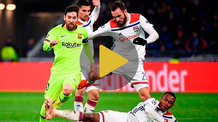 Los precedentes dan como ganador al Barça: El Lyon nunca le ha ganado en Champions