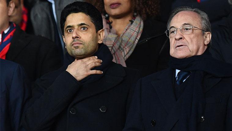 Florentino Pérez podría iniciar una guerra de fichajes con el PSG