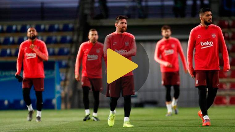 Lista de convocados de Valverde para el FC Barcelona-Olympique de Lyon