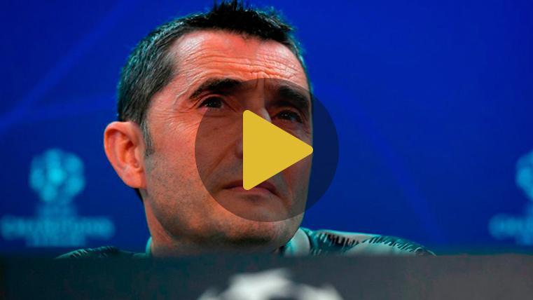 Valverde asegura que no arriesgará con Dembélé y que ya ha decidido el once del Barça