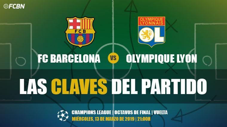 Las claves del FC Barcelona-Olympique de Lyon de la Champions 2018-19