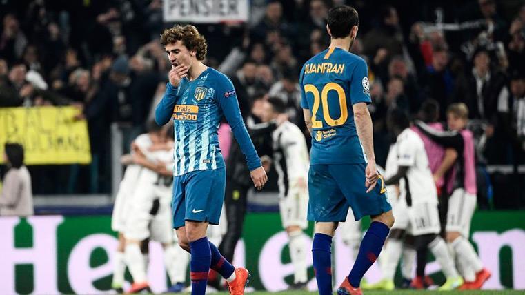 El Atlético de Madrid consuma el desastre del fútbol español en esta Champions