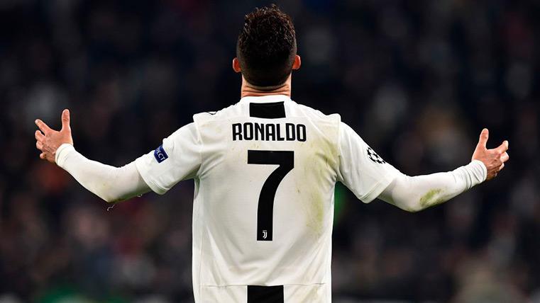 Cristiano Ronaldo celebra uno de sus tantos contra el Atleti