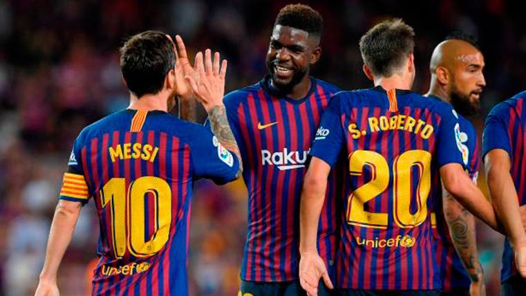 El Barça-Lyon, todavía más importante para Samuel Umtiti