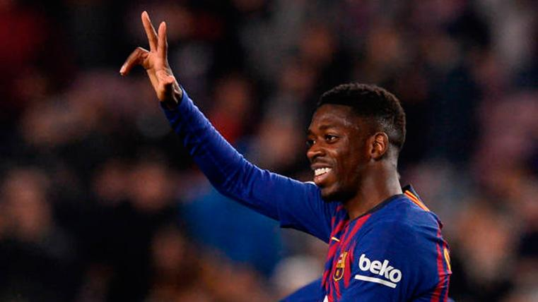 Dembélé puso la guinda al billete del Barça rumbo a los cuartos de Champions