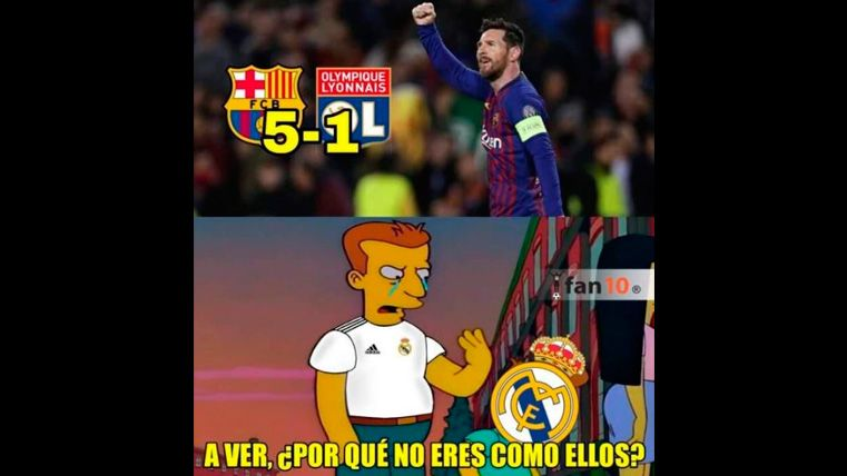 These Are The Best Memes Of The Fc Barcelona Olympique Of Lyon Of The Champions
