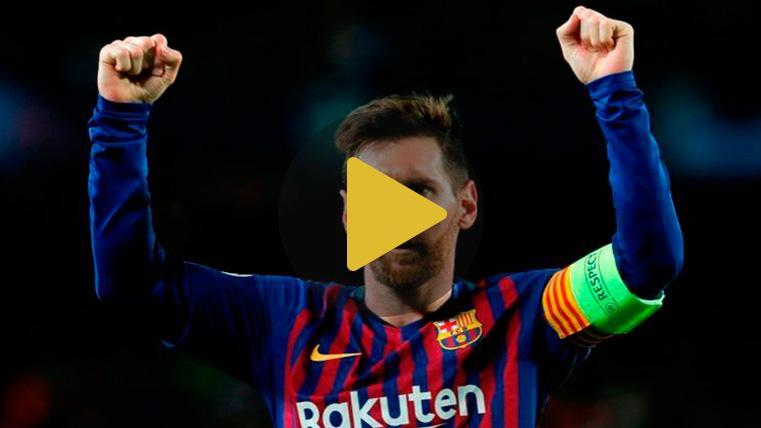 Messi se quita el sombrero y elogia a Cristiano y a la Juventus