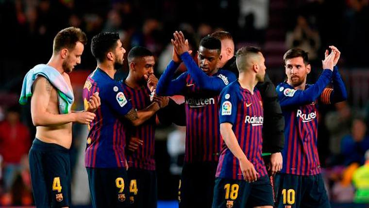 Los jugadores culés se conjuraron contra el Lyon