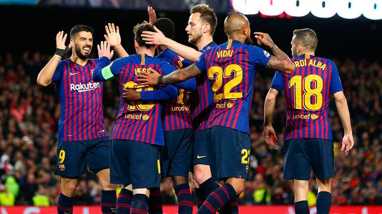 El Barça es el único equipo invicto de los cuartos de final de la Champions League