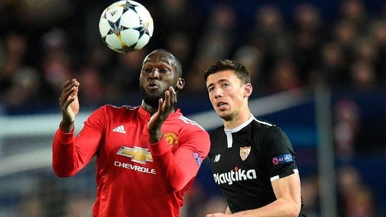 Clément Lenglet, el terror del Manchester United... y de Lukaku