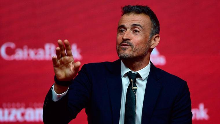 Tres jugadores del Barcelona, en la nueva lista de Luis Enrique para la selección española