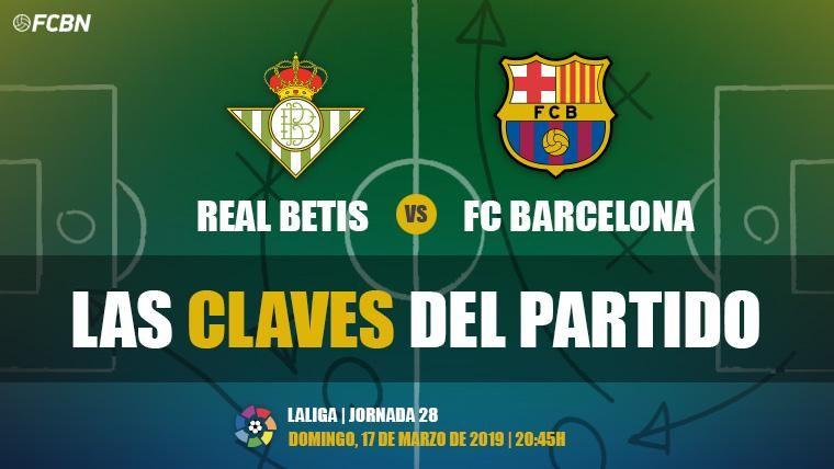 Las claves del Real Betis-FC Barcelona de LaLiga 2018-19