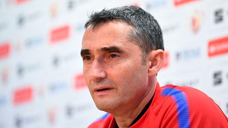 Ernesto Valverde desvela por qué arriesgó con Ousmane Dembélé