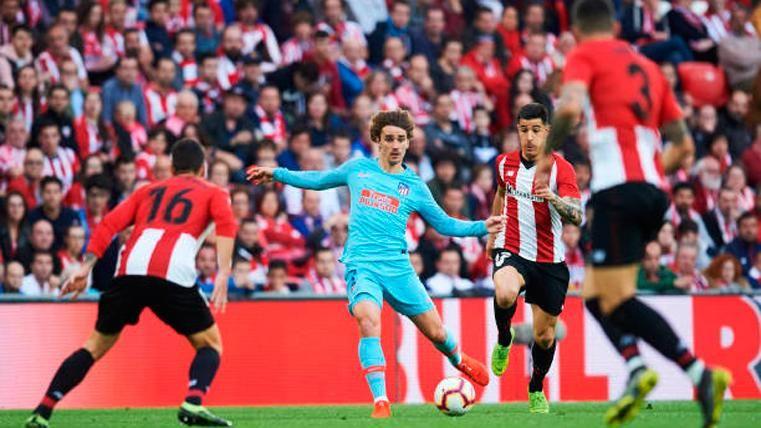 El Athletic prolonga la pesadilla de un Atlético que se ahoga también en Liga (2-0)