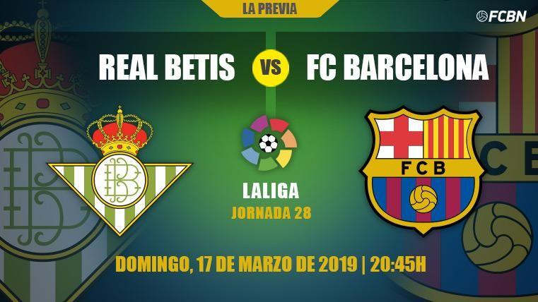 El Barcelona puede dar el golpe definitivo a LaLiga ante el Betis