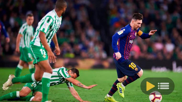 Vídeo resumen: Real Betis 1 FC Barcelona 4 (LaLiga J28)