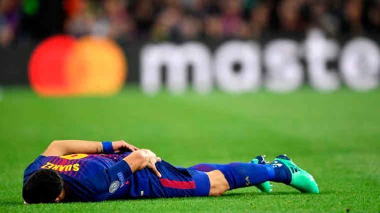 Primer diagnóstico y comunicado del Barça sobre Luis Suárez