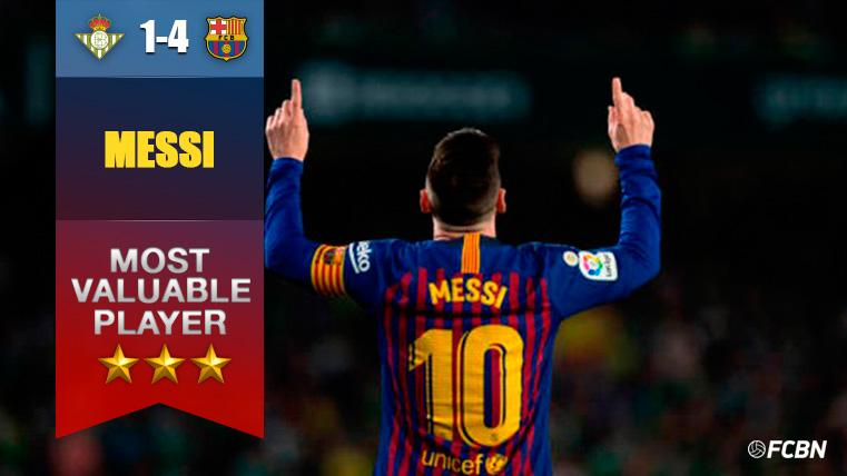 Extraterrestre Messi: Vaselina magistral y 'hat-trick' de un artista incomparable