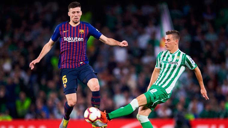 Lenglet certifica el acierto del Barça en su fichaje en otro partido para recordar