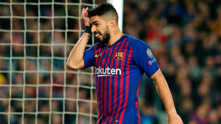 OFICIAL: La lesión de tobillo de Luis Suárez queda en un susto: 15 días de baja