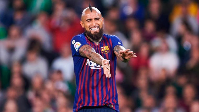 Arturo Vidal brilla en el mejor partido desde que está en el Barça
