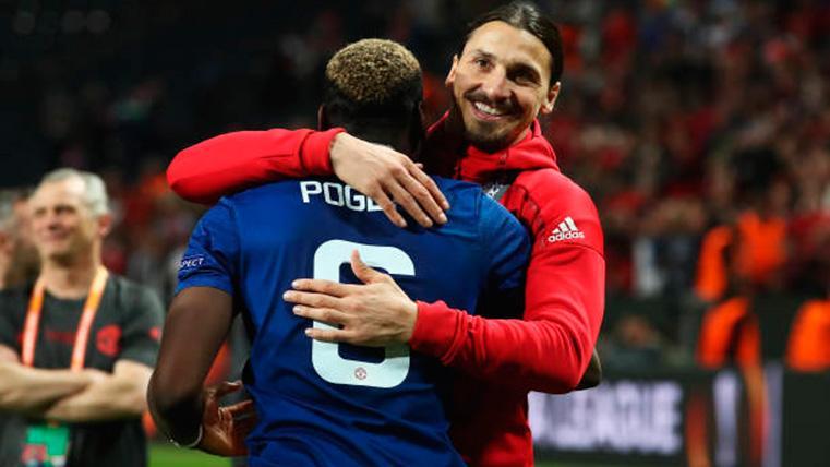 Ibrahimovic 'piropea' a dos estrellas del Manchester United antes de medirse al Barça