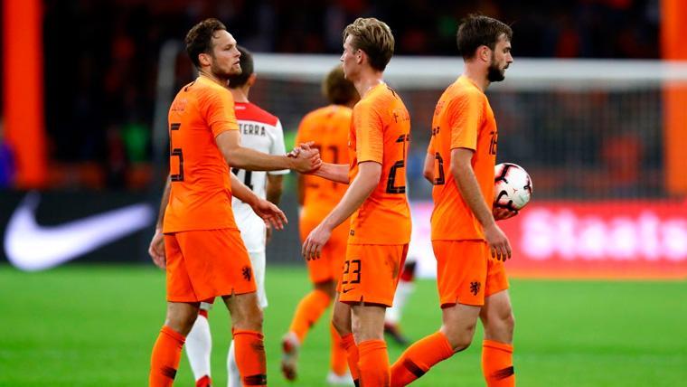 Koeman define a De Jong como pieza clave para la Holanda y habla de sus molestias
