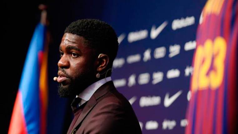 ¿Puede plantearse el Barcelona el traspaso de Samuel Umtiti?