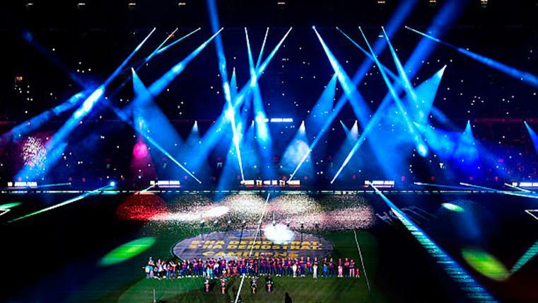 Quince años de dominio del FC Barcelona en el fútbol español